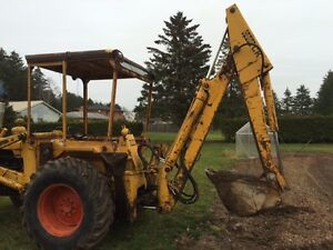 580 case tractor backhoe
