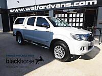 2014 Toyota Hi-Lux Invinceable 3.0D-4D AUTO 4x4 Double Cab Diesel white Automati