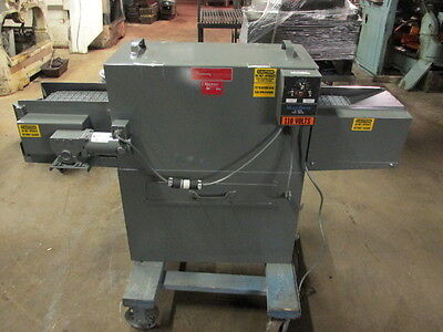 Parts Washer New Fourway Automatics B-25 Conveyor Parts Washer