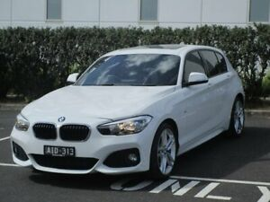 2016 BMW 1 Series F20 LCI 120i Steptronic M Sport White 8 Speed Sports Automatic Hatchback Narre Warren Casey Area Preview