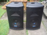 MACKIE S215 SPEAKERS PAIR - BIG PRO SOUND- GREAT SOUND GREAT CONDITION !!!
