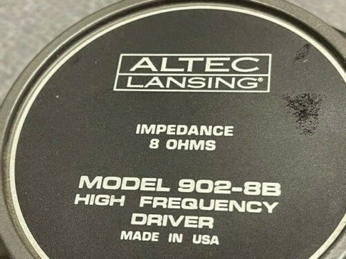 ALTEC 902-8B High Frequency Driver