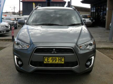 2014 Mitsubishi ASX XB MY15 LS (2WD) Grey Continuous Variable Wagon Canada Bay Canada Bay Area Preview