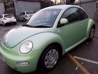 VW BEETLE 1.6 51 REG GREEN
