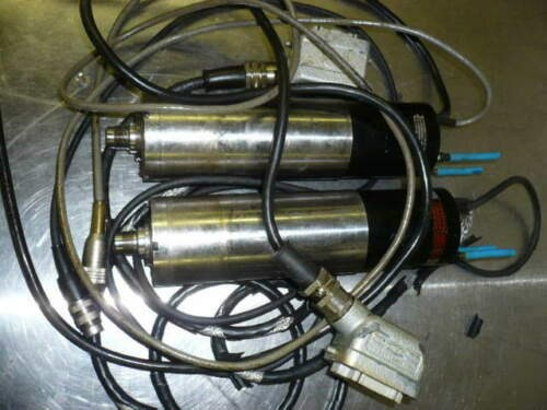 Precise SC60-L high speed spindles, 10k-35k rpm, 30-105 volts, lot of (2)