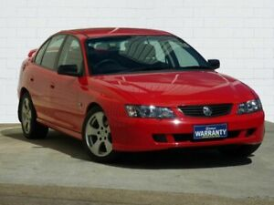 2004 Holden Commodore VY II SV8 Red 6 Speed Manual Sedan Moorooka Brisbane South West Preview