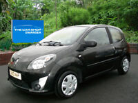 RENAULT TWINGO 1.2 Extreme TWO OWNERS FROM NEW (pearl black) 2010