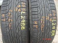 205 55 15 Pirelli, P6000 Powergy, 88V, x2 A Pair, 8.1mm (450-458 Barking Road,E13 8HJ) Part Worn