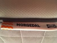Ikea double mattress Morgedal from guest room