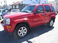 2003 Jeep Liberty (GARANTIE 2 ANS INCLUS) Limited
