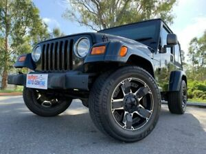 2006 Jeep Wrangler Sport Black 4 Speed Automatic Softtop Kingston Logan Area Preview