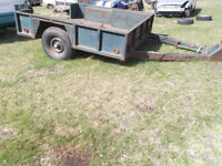 HEAVY DUTY 7500 lbs TRAILER -$550