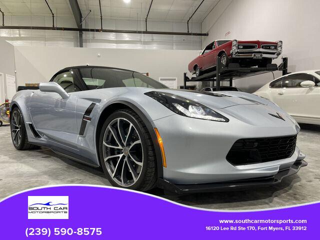 2017 Blue Chevrolet Corvette Convertible  | C7 Corvette Photo 1