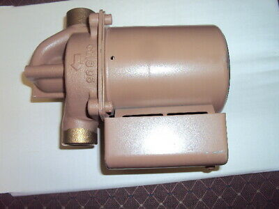 Taco 006-bc7-ifc Water Circulating Pump Wet Rotor 140 Hp Bronze In Line