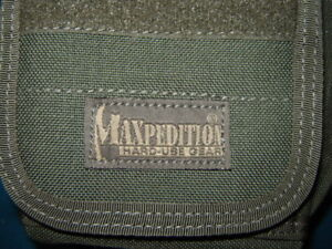 MAXpedition Backpack and accessories