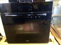 Miele black wall oven
