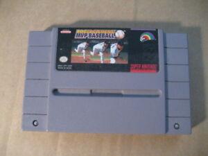super nintendo game, roger clemens mvp baseball. $12