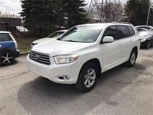 2008 Toyota Highlander SR5, Safety & ETEST for ON or Qc INCL.