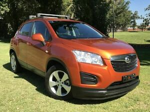 2015 Holden Trax TJ MY15 Active Orange 6 Speed Automatic Wagon Embleton Bayswater Area Preview