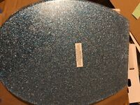 Croydex Blue Glitter Toilet Seat RRP £50