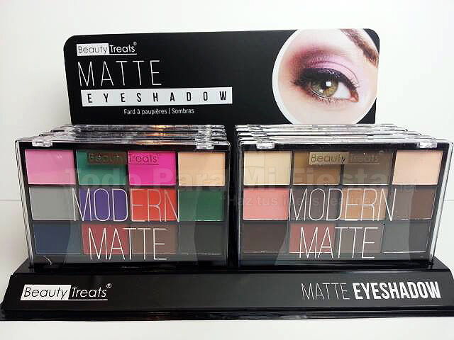 Eyeshadow Palette Modern Mate Beauty Treats Sombras para Ojo