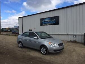 2008 Hyundai Accent GLS  LOW KMS GREAT ON GAS