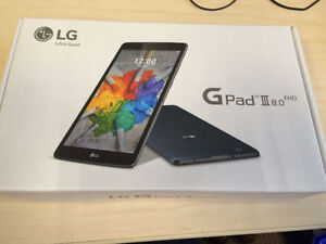 "Brand new LG G Pad III 8.0"" 16GB Android 6.0 LTE Tablet"
