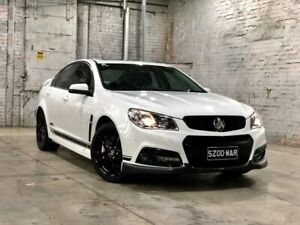 2015 Holden Commodore VF MY15 SS V Redline White 6 Speed Manual Sedan Mile End South West Torrens Area Preview