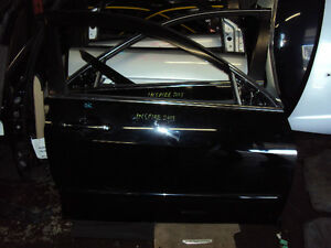JDM 03-07 honda accord black doors