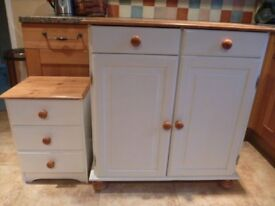 Refurbished Solid Pine Units