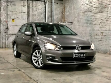2015 Volkswagen Golf VII MY16 110TSI DSG Highline Grey 7 Speed Sports Automatic Dual Clutch Mile End South West Torrens Area Preview
