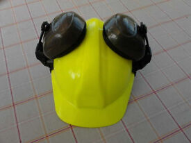 Hard Hat and Ear Defenders