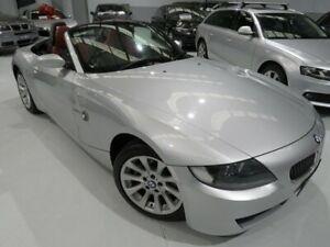 2008 BMW Z4 E85 MY07 Steptronic Titanium Silver 6 Speed Sports Automatic Roadster Seaford Frankston Area Preview
