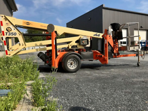 Nacelle Remorquable / Towable Boom Lift  JLG T350 2012