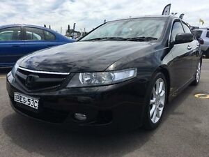 2007 Honda Accord Euro 7th Gen Luxury Sedan 4dr Auto 5sp, 2.4i [MY07] Black Automatic Sedan Mount Druitt Blacktown Area Preview