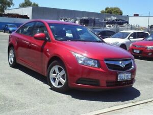 2010 Holden Cruze Red Automatic Sedan Embleton Bayswater Area Preview
