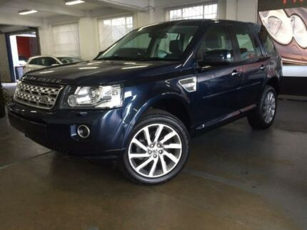 2013 Land Rover Freelander 2 LF SD4 Baltic Blue Sports Automatic Wagon Five Dock Canada Bay Area Preview