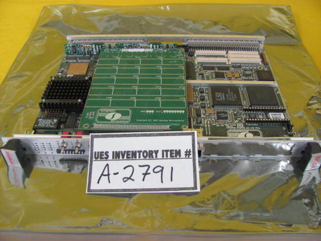 Synergy Microsystems VGM2-E SBC Single Board Computer RGS2-B Used Working