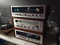 Stereo Pre-Amp & Power Amp, Speakers,Receiver, Turntable, LP'S