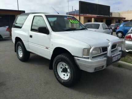1998 Holden Frontera (4x4) White 5 Speed Manual 4x4 Wagon Pearsall Wanneroo Area Preview