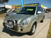2007 Hyundai Tucson City Five Speed Manual SUV Wangara Wanneroo Area Preview