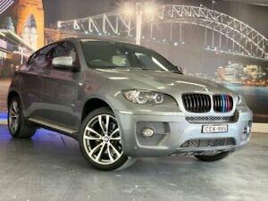 2010 BMW X6 E71 MY10.5 xDrive40d Coupe Steptronic Silver 8 Speed Sports Automatic Wagon Prospect Blacktown Area Preview