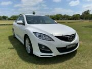 2012 Mazda 6 GH1052 MY12 Touring White 5 Speed Sports Automatic Hatchback South Grafton Clarence Valley Preview