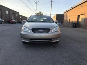 2004 Toyota Corolla LE-WOW-AVEC CUIR & TOIT OUVRANT & MAGS