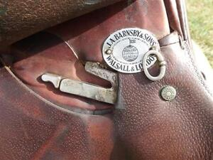 "16.5"" Barnsby English Saddle Penticton Kelowna image 7"
