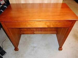 Timber Desk With Drawer Greystanes Parramatta Area Preview