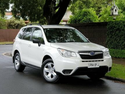 2014 Subaru Forester S4 MY14 2.5i Lineartronic AWD White 6 Speed Constant Variable Wagon Prospect Prospect Area Preview