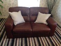 Violino 2 seater leather sofa