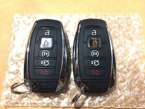 2016/17 Lincoln 5-button keyless entry fob
