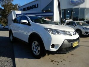 2014 Toyota RAV4 ASA44R MY14 GX AWD White 6 Speed Sports Automatic Wagon Glendale Lake Macquarie Area Preview